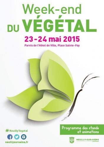 Affiche WE Vegetal 2015