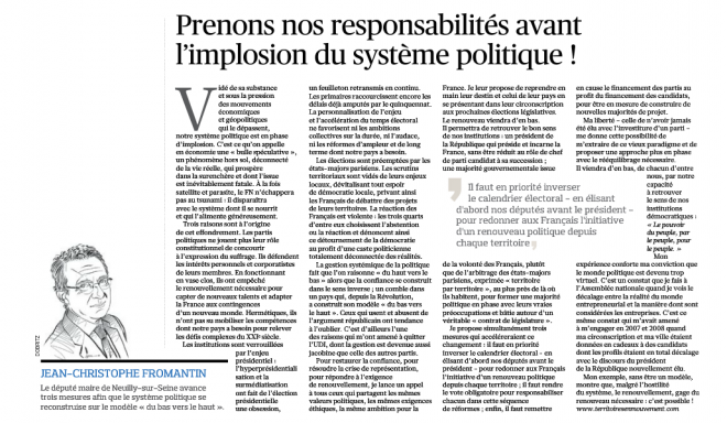 15.10.11_Le Figaro_ Tribune