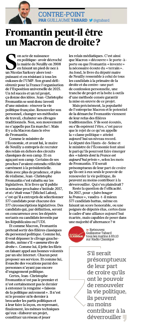 Article Figaro 6 mai G Tabard